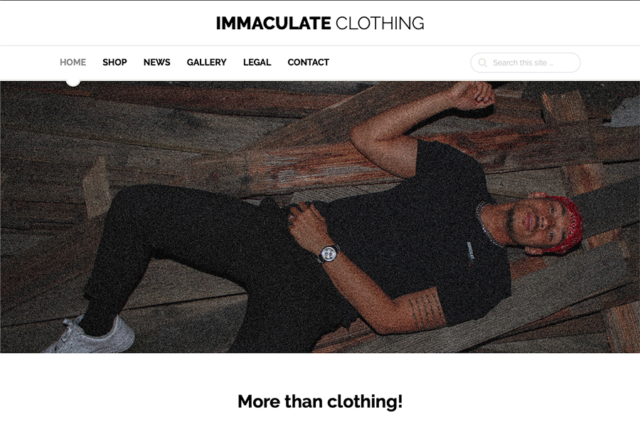 IMC - Immaculate Clothing